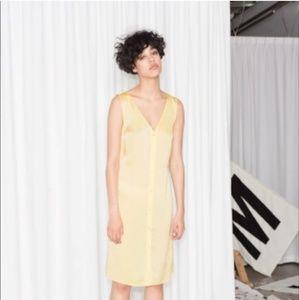 & Other Stories x Rachel Antonoff Silk Slip Dress